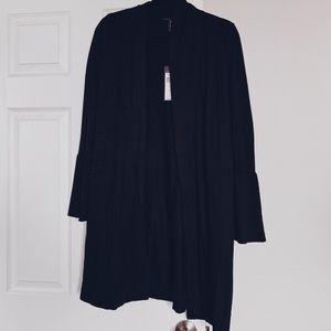 BCBG MaxAzria black cardigan jacket